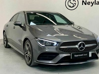 used Mercedes CLA200 CLA ClassAMG Line 4dr Tip Auto Coupe 2020