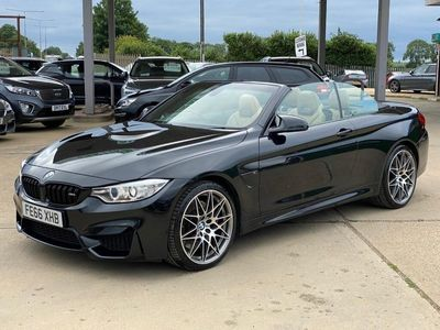 used BMW M4 COMPETITION PACKAGE 3.0 2dr