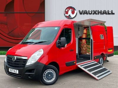 used Vauxhall Movano 3500 2.3 CDTI 125PS L3 H2 HORSEBOX 2 STALL