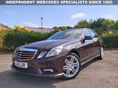 used Mercedes E200 E-ClassCDI AMG SPORT EDITION 125 BLUEEFFICIENCY 2.1 4d RARE COLOUR + SPEC