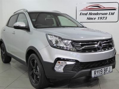 used Ssangyong Korando 2.2 LE 5d 176 BHP Automatic Estate 2019