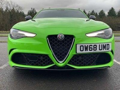 used Alfa Romeo Giulia Saloon 2.9 V6 Biturbo Quadrifoglio 4Dr Auto 2019
