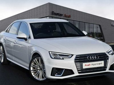 used Audi A4 40 TDI S Line 4dr S Tronic Auto diesel saloon