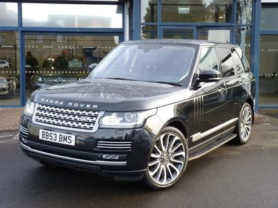 used Land Rover Range Rover 5.0 V8 Autobiography Auto 4WD (s/s) 5dr