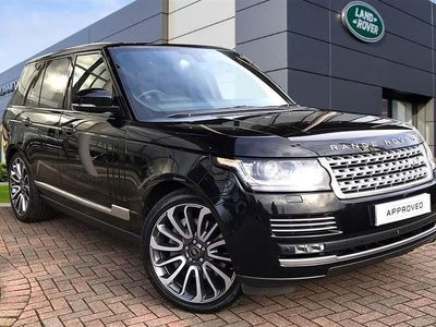 used Land Rover Range Rover 5.0 V8 Supercharged Autobiography 4Dr Auto [Ss]