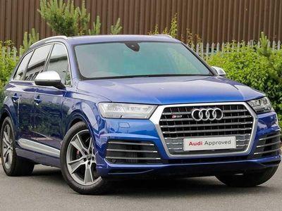 used Audi SQ7 Q7Quattro 5Dr Tip Auto
