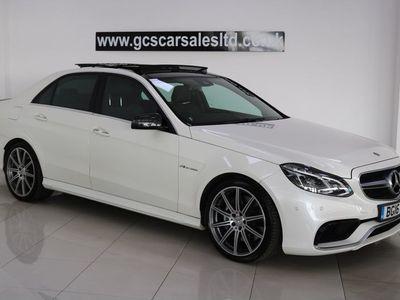 used Mercedes E63 AMG E Class 5.5MCT 4dr
