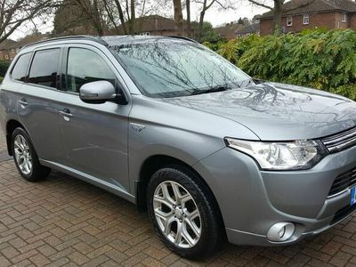 used Mitsubishi Outlander 2.0h 12kWh 3h CVT 4WD (s/s) 5dr