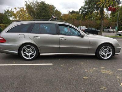 used Mercedes E55 AMG E Class 5.4AMG 5dr