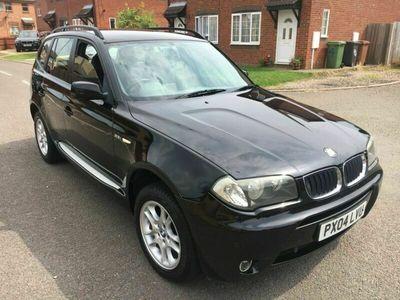 used BMW X3 2.5i SE 4WD 5dr