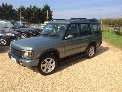 used Land Rover Discovery 2.5 Td5 ES 7 seat 5dr MANUAL, 2003 ( )