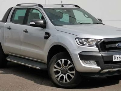 used Ford Ranger Pick Up Double Cab Wildtrak 3.2 TDCi 200 Auto, 2018, not known, 29922 miles.