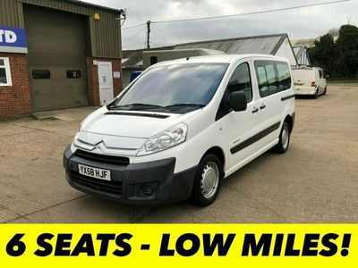 used Citroën Dispatch 1.6 COMBI HDI 6 SEAT 90 BHP CREW VAN