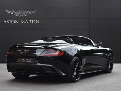 used Aston Martin Vanquish Volante V12 TOUCHTONIC 8 SPEED 2dr