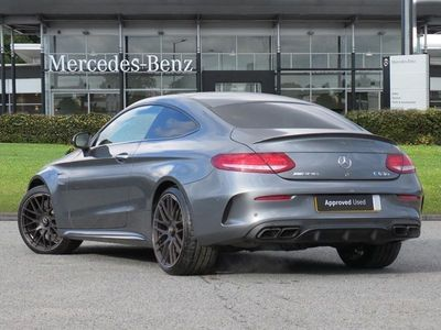 used Mercedes C63S AMG C Class AmgPremium 2dr Auto Coupe 2018