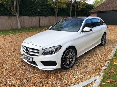used Mercedes C250 C Class 2.1AMG Line (Premium) G-Tronic+ 4MATIC (s/s) 5dr