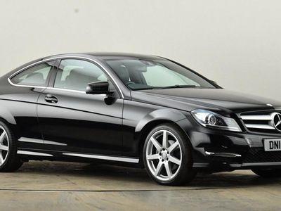 used Mercedes C220 C CLASSCDI AMG Sport Edition 2dr Auto [Premium] Black Automatic Diesel