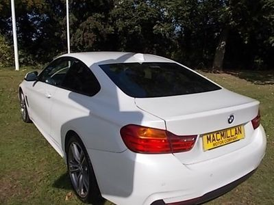 used BMW 430 4-Series Coupe d xDrive M Sport 2d Auto