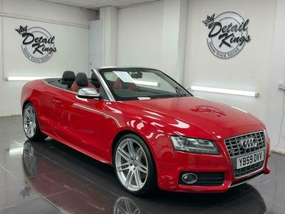 used Audi A5 Cabriolet S5 Quattro 2dr S Tronic ** FREE DELIVERY ** FLAT BOTTOM STEERING** FSH