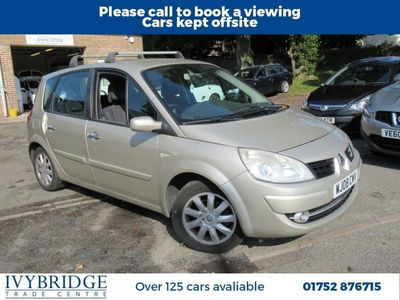 used Renault Scénic 1.5 DYNAMIQUE DCI 5d 86 BHP CHEAP PX TO CLEAR-MOT NOVEMBER