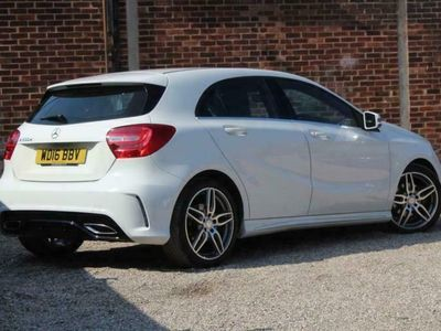 used Mercedes A200 A-CLASS 2.1D AMG LINE 5d 134 BHP FREE DELIVERY WITH diesel hatchback