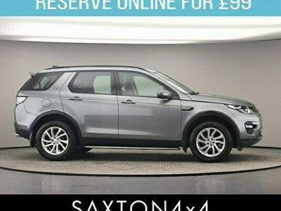 used Land Rover Discovery Sport 2.0 TD4 SE Tech Auto 4WD (s/s) 5dr