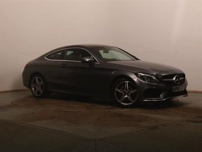 used Mercedes C200 C ClassAmg Line 2Dr 9G-Tronic Coupe 2017