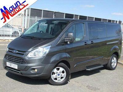 used Ford Custom Tourneo310 TDCi 130PS Titanium SelectShift Automatic 9 Seat Luxury Minibus, Euro 6 5-Door