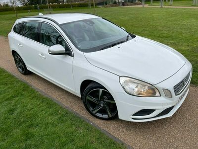 used Volvo V60 D2 [115] R DESIGN 5dr 1 F KEEPER,SERVICE HISTORY,£30 TAX!