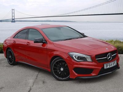 used Mercedes CLA220 CL Class CLACDI AMG Sport 4dr Tip Auto Coupe 2014