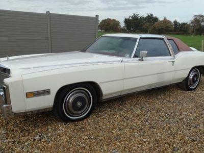 used Cadillac Eldorado COUPE T TOP AUTOMATIC RARE EXAMPLE, 1977 (T)