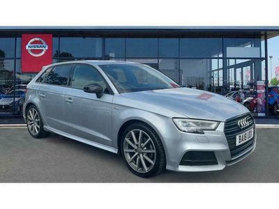 used Audi A3 2.0 TDI Black Edition 5dr S Tronic [7 Speed]