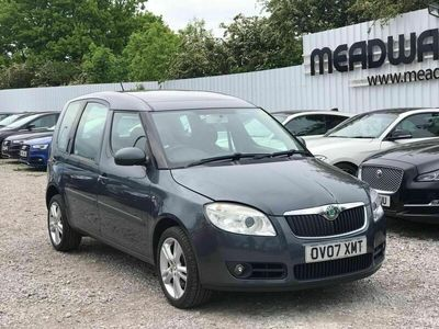 used Skoda Roomster 1.6 3 5dr