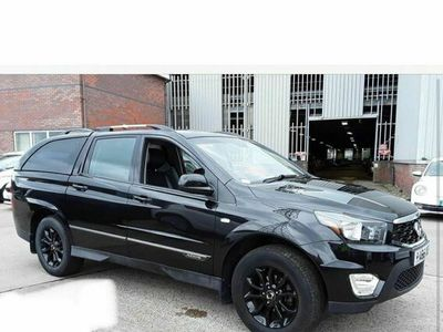 used Ssangyong Musso 2.2 TD EX Double Cab Pickup 4dr