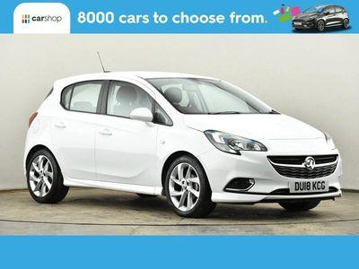 used Vauxhall Corsa 1.4 SRi Vx-line 5dr White Manual Petrol