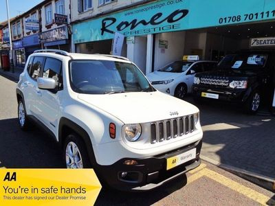 used Jeep Renegade M-JET LIMITED ULEZ EXEMPT, STUNNING CONDITION