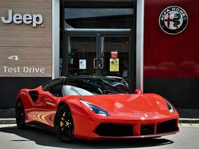 used Ferrari 488 3.9T V8 GTB F1 DCT (s/s) 2dr