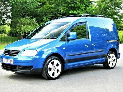 used VW Caddy LIFE C20 NO VAT SAT NAV SWB VAN 104TDI