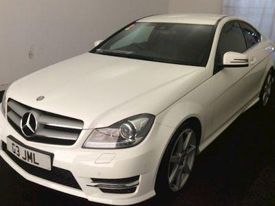 used Mercedes C250 C-Class CoupeCDI BlueEFFICIENCY AMG Sport 2d Auto