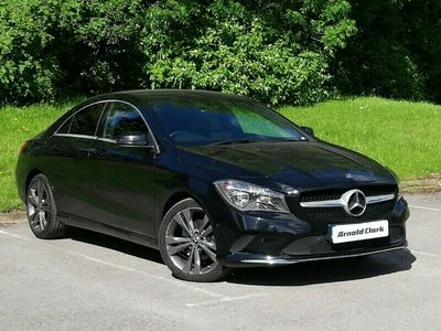 used Mercedes 220 CLA Diesel CoupeSport 4dr Tip Auto