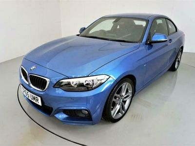 used BMW 218 2 SERIES 2.0 D M SPORT 2d 148 BHP diesel coupe