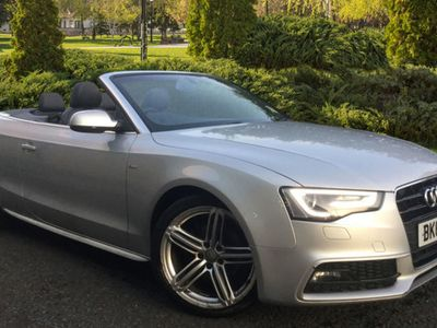 used Audi A5 Cabriolet A5 S LINE SPECIAL EDITION 2.0 Convertible 2013