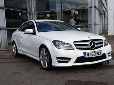 used Mercedes C180 C-Class[1.6] BlueEFFICIENCY AMG Sport 2dr Auto
