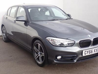used BMW 118 1 SERIES i [1.5] Sport 5dr [Nav] Grey Manual Petrol