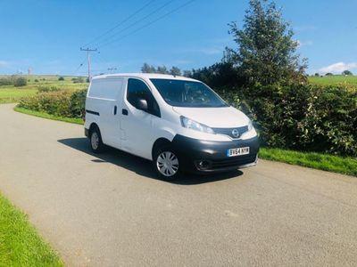 used Nissan NV200 1.5 dCi Acenta Van, 2015, Van, 117000 miles.