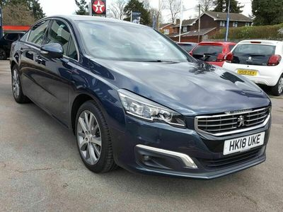 used Peugeot 508 2.0 BlueHDi 150 GT Line 4dr