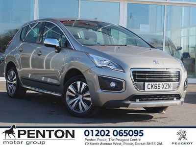 used Peugeot 3008 1.6 Bluehdi 120 Active 5Dr