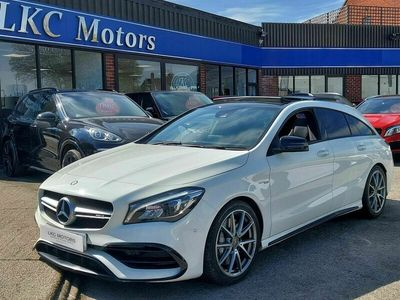 used Mercedes CLA45 AMG Shooting Brake Cla Class 2.0 AMG SpdS DCT 4MATIC (s/s) 5dr