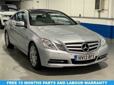 used Mercedes E250 E Class 2.1CDI BLUEEFFICIENCY SE 2DR