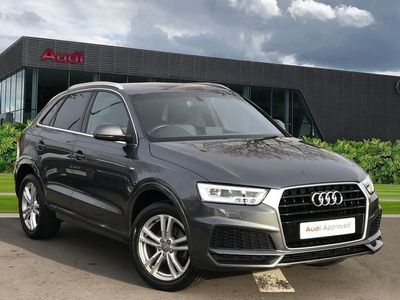 used Audi Q3 S line Edition 2.0 TDI 150 PS 6-speed 5dr